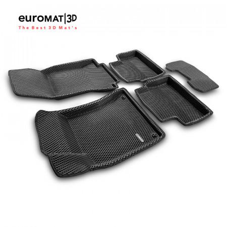 3D коврики Euromat3D EVA в салон для Mercedes A-Class (W177) (2018-) № EM3DEVA-003510