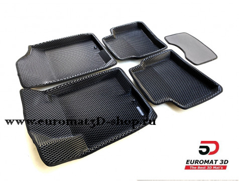 3D коврики Euromat3D EVA в салон для Hyundai Elantra (2006-2008) № EM3DEVA-002722